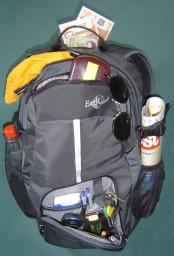 rucksack mit versteck